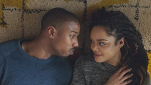 """Michael B. Jordan, shown here with Tessa Thompson, received best actor and best entertainer honors for """"Creed"""" at the NAACP Image Awards. (Photo: Warner Bros. Entertainment Inc.)"""