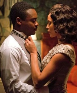 """David Oyelowo, shown here with Carmen Ejogo as Coretta Scott King, was passed over for his portrayal as the Rev. Dr. Martin Luther King Jr. in """"Selma."""" (Photo: Paramount Pictures)"""