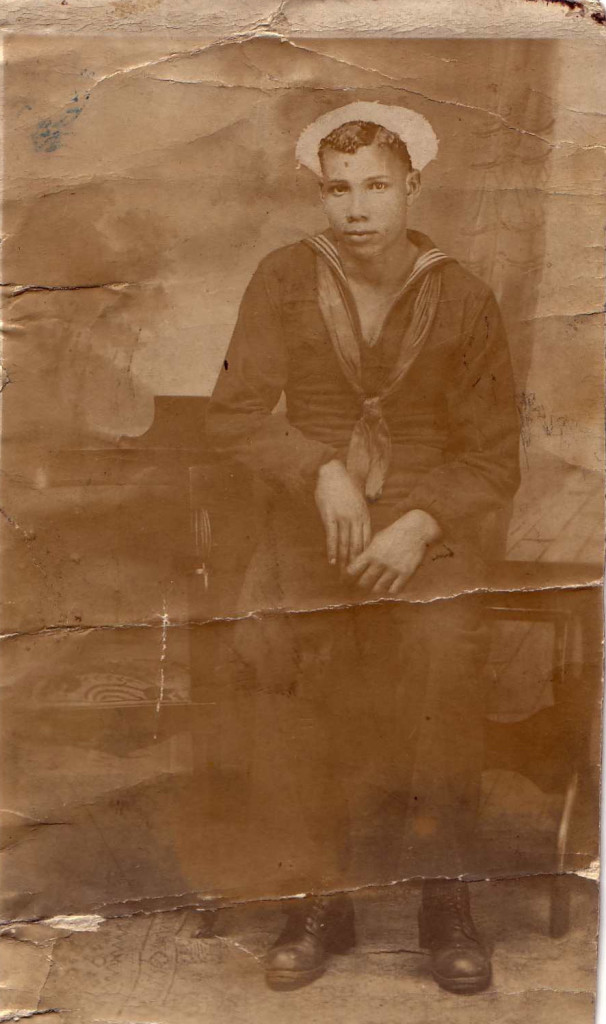 Edward Wilson was 19 when the USS Conestoga disappeared and among the first African Americans allowed on a Navy vessel.